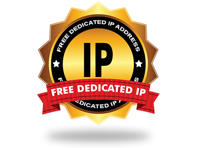 A no cost Dedicated IP address